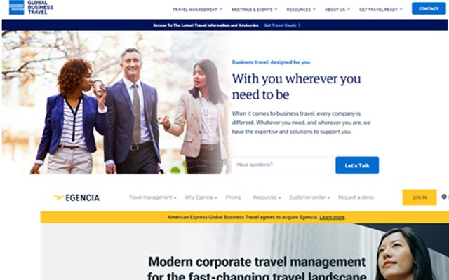 American Express Global Business Travel alcanza un acuerdo para adquirir Egencia