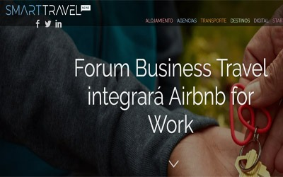 Forum Business Travel integrará Airbnb for Work